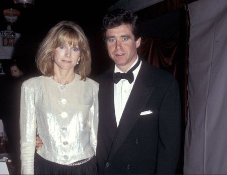 Jay McInerney with his third wife, Helen Bransford.