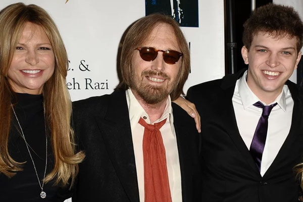 Dylan Petty's father Tom Petty and mother Dane York