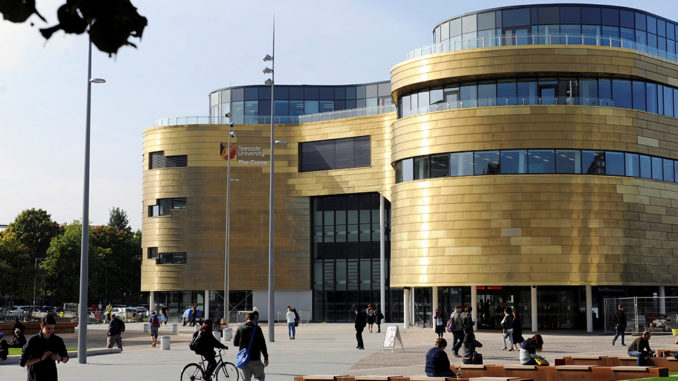 2020 Global Excellence For International Students At Teesside University in UK